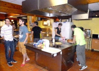 Espace partagé, résidence Gaston Marsan, Gelos
