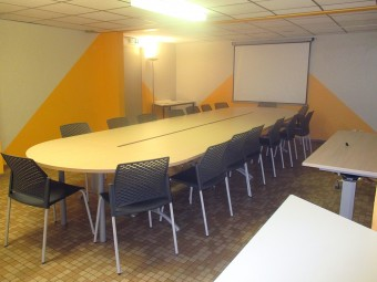 Salle pour 15 pers.