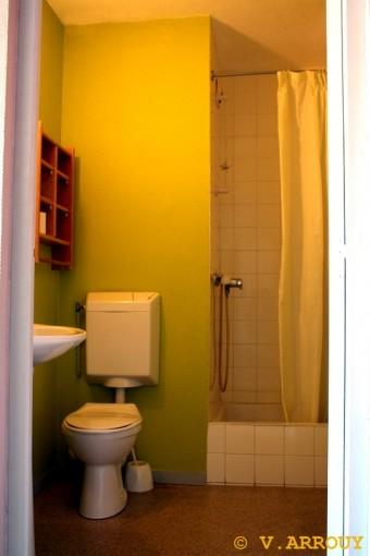 Salle de bain Chambre Auberge de Pau