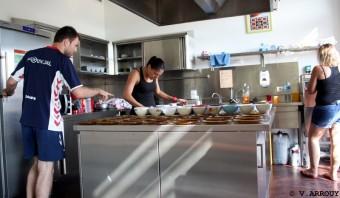Cuisine collective, Bordes